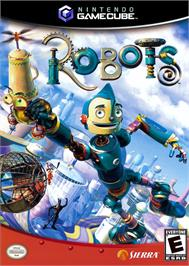 Box cover for Robots on the Nintendo GameCube.
