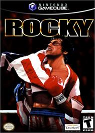 Box cover for Rocky on the Nintendo GameCube.
