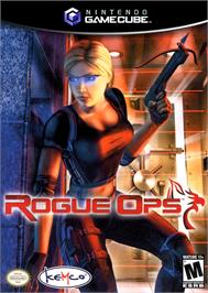 Box cover for Rogue Ops on the Nintendo GameCube.