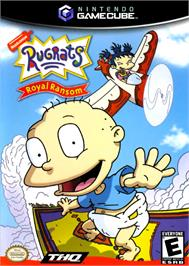 Box cover for Rugrats: Royal Ransom on the Nintendo GameCube.