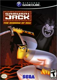 Box cover for Samurai Jack: The Shadow of Aku on the Nintendo GameCube.
