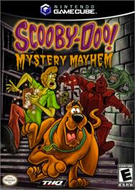 Box cover for Scooby Doo!: Mystery Mayhem on the Nintendo GameCube.
