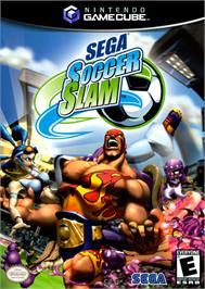 Box cover for Sega Soccer Slam on the Nintendo GameCube.