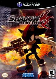 Box cover for Shadow the Hedgehog on the Nintendo GameCube.