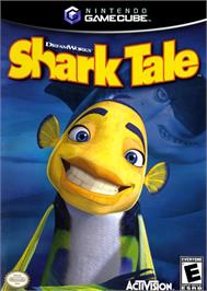 Box cover for Shark Tale on the Nintendo GameCube.