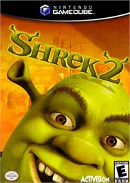Box cover for Shrek 2 on the Nintendo GameCube.