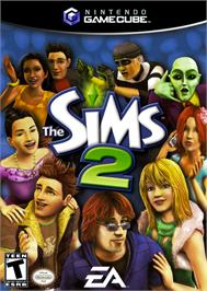Box cover for Sims 2 on the Nintendo GameCube.