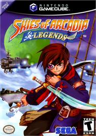 Box cover for Skies of Arcadia: Legends on the Nintendo GameCube.