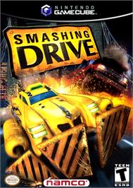 Box cover for Smashing Drive on the Nintendo GameCube.