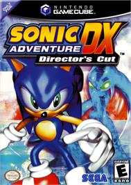 Box cover for Sonic Adventure DX: Director's Cut on the Nintendo GameCube.