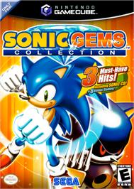 Box cover for Sonic Gems Collection on the Nintendo GameCube.