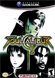 Box cover for SoulCalibur 2 on the Nintendo GameCube.