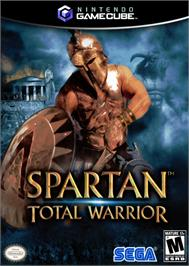 Box cover for Spartan: Total Warrior on the Nintendo GameCube.