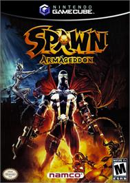 Box cover for Spawn: Armageddon on the Nintendo GameCube.