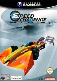 Box cover for Speed Challenge: Jacques Villeneuve's Racing Vision on the Nintendo GameCube.