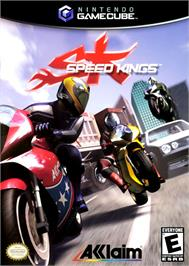 Box cover for Speed Kings on the Nintendo GameCube.