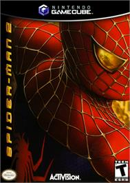 Box cover for Spider-Man 2 on the Nintendo GameCube.