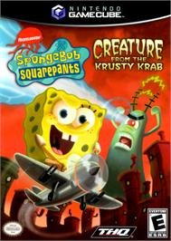 Box cover for SpongeBob SquarePants: Creature from the Krusty Krab on the Nintendo GameCube.
