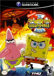 Box cover for SpongeBob SquarePants: The Movie on the Nintendo GameCube.