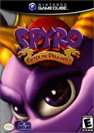 Box cover for Spyro: Enter the Dragonfly on the Nintendo GameCube.