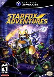 Box cover for Star Fox Adventures on the Nintendo GameCube.