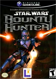 Box cover for Star Wars: Bounty Hunter on the Nintendo GameCube.