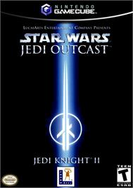 Box cover for Star Wars: Jedi Knight II - Jedi Outcast on the Nintendo GameCube.
