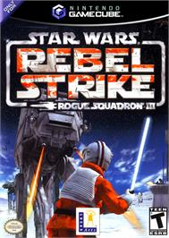 Box cover for Star Wars: Rogue Squadron III - Rebel Strike on the Nintendo GameCube.