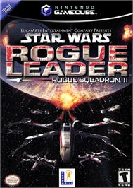 Box cover for Star Wars: Rogue Squadron II - Rogue Leader on the Nintendo GameCube.
