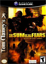 Box cover for Sum of All Fears on the Nintendo GameCube.