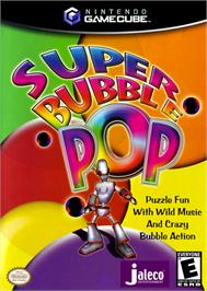 Box cover for Super Bubble Pop on the Nintendo GameCube.