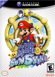 Box cover for Super Mario Sunshine on the Nintendo GameCube.