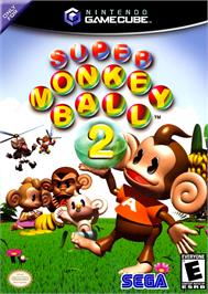 Box cover for Super Monkey Ball 2 on the Nintendo GameCube.