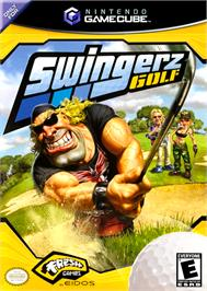 Box cover for Swingerz Golf on the Nintendo GameCube.