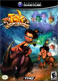 Box cover for Tak: The Great Juju Challenge on the Nintendo GameCube.
