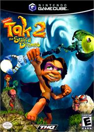 Box cover for Tak 2: The Staff of Dreams on the Nintendo GameCube.