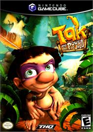 Box cover for Tak and the Power of Juju on the Nintendo GameCube.