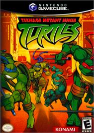Box cover for Teenage Mutant Ninja Turtles on the Nintendo GameCube.