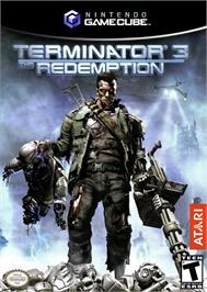 Box cover for Terminator 3: The Redemption on the Nintendo GameCube.