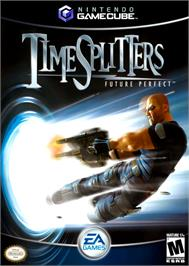 Box cover for TimeSplitters: Future Perfect on the Nintendo GameCube.