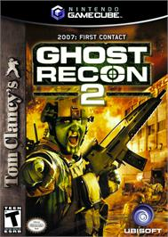 Box cover for Tom Clancy's Ghost Recon 2 on the Nintendo GameCube.