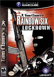 Box cover for Tom Clancy's Rainbow Six: Lockdown on the Nintendo GameCube.