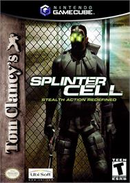 Box cover for Tom Clancy's Splinter Cell on the Nintendo GameCube.