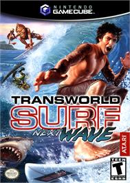 Box cover for TransWorld SURF: Next Wave on the Nintendo GameCube.