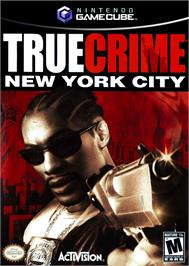 Box cover for True Crime: New York City on the Nintendo GameCube.