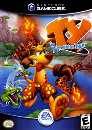 Box cover for Ty the Tasmanian Tiger on the Nintendo GameCube.