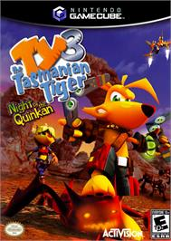 Box cover for Ty the Tasmanian Tiger 3: Night of the Quinkan on the Nintendo GameCube.