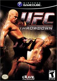 Box cover for UFC: Throwdown on the Nintendo GameCube.