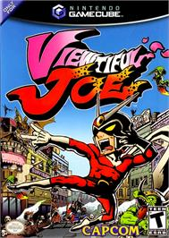 Box cover for Viewtiful Joe on the Nintendo GameCube.