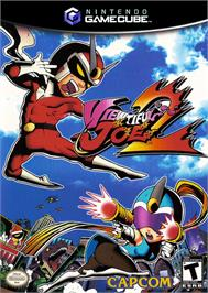 Box cover for Viewtiful Joe 2 on the Nintendo GameCube.